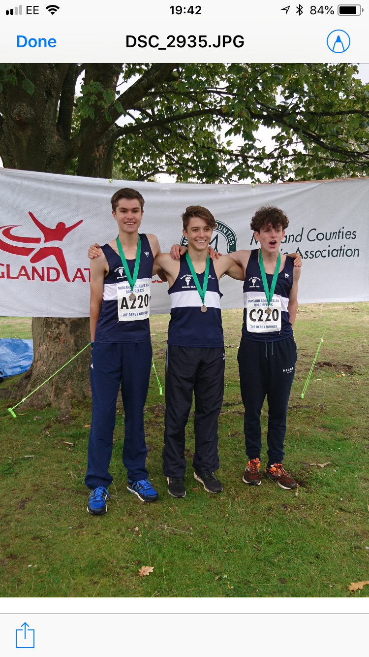MIDLAND ROAD RELAYS SUCCESS