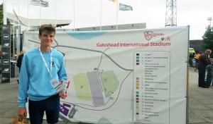 Sam Gentry at Gateshead