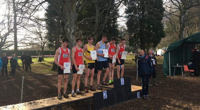 Club Athletes Run Well At SW Schools XC Champs